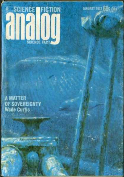 Astounding Stories 494 - Dolphin - A Matter Of Sovereignty - January 1972 - Deep Sea - Machine