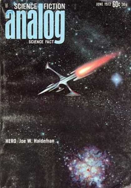 Astounding Stories 499 - Science Fiction - Analog - Science Fact - June 1972 - Hero
