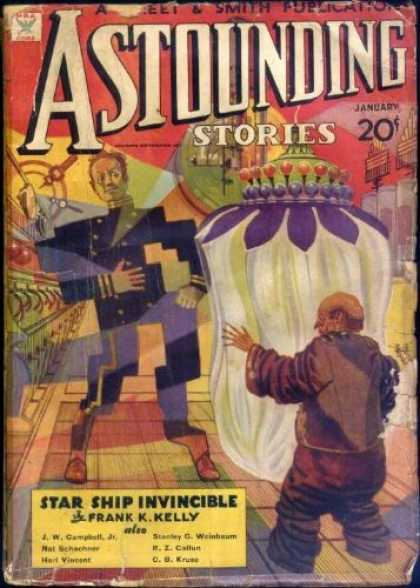 Astounding Stories 50 - Science Fiction - Short Stories - Star Ship - January - Jw Campbell Jr