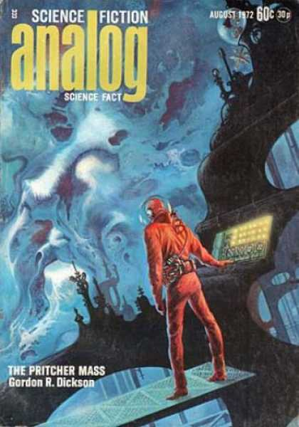 Astounding Stories 501 - August 1972 - The Pritcher Mass - Command Station - Space - Astronaut