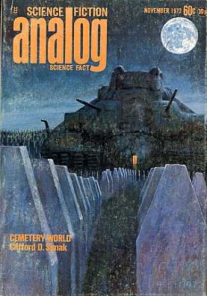 Astounding Stories 504 - Moon - Cementery World - November 1972 - Planet - Space Craft