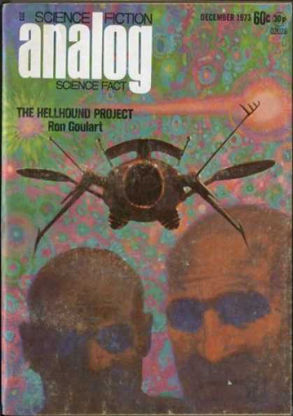 Astounding Stories 517 - December 1973 - The Hellhound Project - Space Craft - Galaxy - Heads