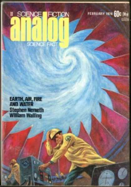 Astounding Stories 519 - Earth Air And Water - Nemeth - February 1974 - Vortex - Walling