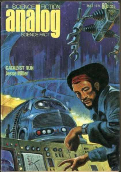 Astounding Stories 522 - May 1974 - Science Fiction - Catalyst Run - Jesse Miller - Science Fact