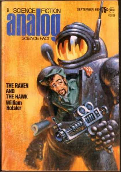 Astounding Stories 526 - The Raven - The Hawk - William Rotsler - Space Suit - September 1974