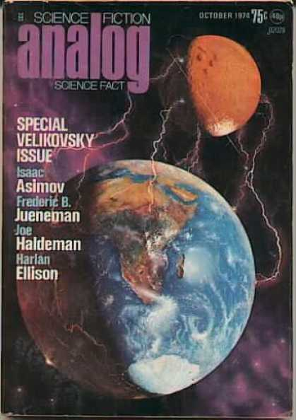 Astounding Stories 527 - Earth - Asimov - Special Velikovsky Issue - October 1974 - Isaac Asimov