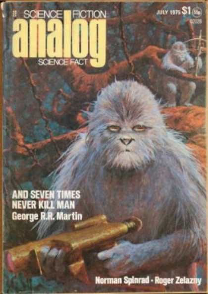 Astounding Stories 536 - July 1975 - And Seven Times Never Kill Man - George R R Martin - Norman Spinrad - Roger Zelazny
