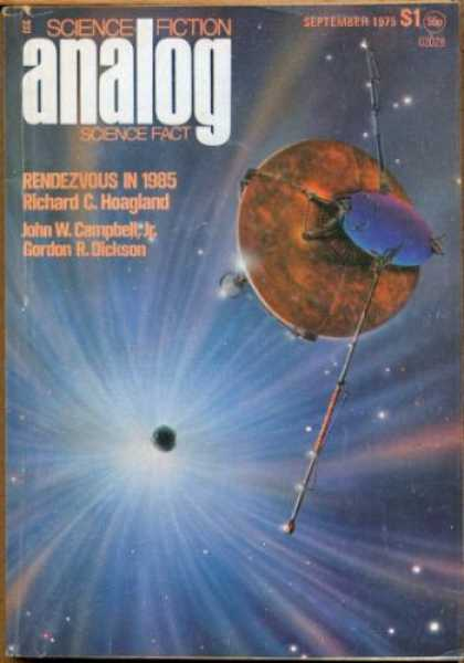 Astounding Stories 538 - Rendezvous In 1985 - September 1975 - Space - Planet - Space Craft