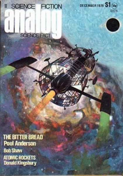 Astounding Stories 541 - December 1975 - The Bitter Bread - Poul Anderson - Bob Shaw - Donald Kingsbury