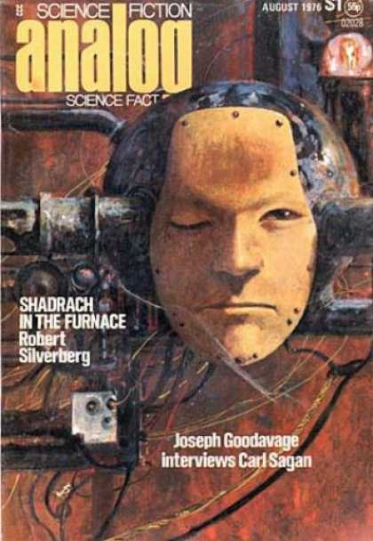 Astounding Stories 549 - Mask - August 1976 - Shadrach In The Furnace - Silverburg - Machinery