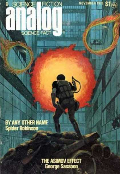 Astounding Stories 552 - Discoveries Of Science - Flames Of Scientic Research - Science Fiction Stories - Venturing Into Science Fiction - Science Fiction Of November 1976