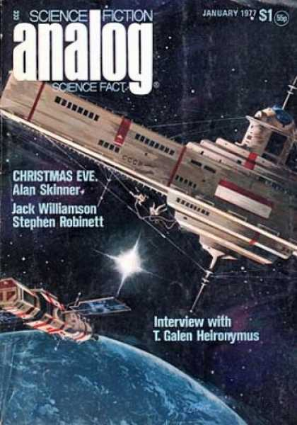 Astounding Stories 554 - Satelite - Outer Space - Brighter Stars - The Earth Below - The Final Frontier