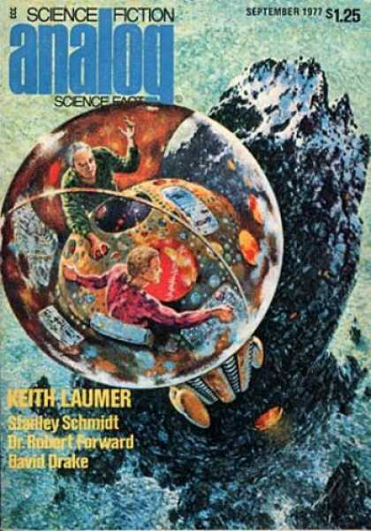 Astounding Stories 562 - David Drake - Keith Laumer - Sphere - September 1977 - Stanley Schmidt