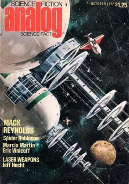 Astounding Stories 563 - Space - Moon - October 1977 - Spider Robinson - Space Craft