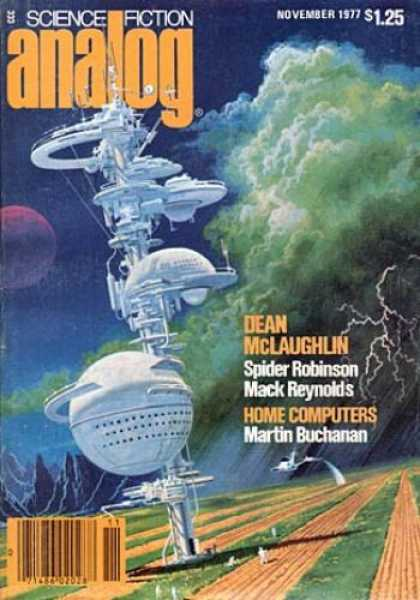 Astounding Stories 564 - November 1977 - Dean Mclaughlin - Spider Robinson - Mack Reynolds - Martin Buchanan
