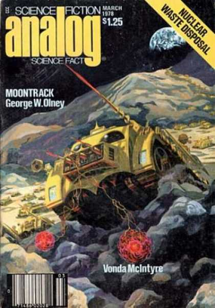 Astounding Stories 568 - Planet - Earth - Moon - Moontrack - March 1978
