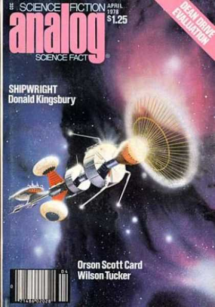 Astounding Stories 569 - Shipwright - Donald Kingsbury - April 1978 - Wilson Tucker - Orson Scott Card