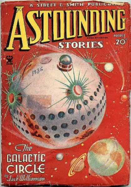 Astounding Stories 57 - Jack Williamson - The Galatic Circle - August - A Street L Smith Publication - Astounding