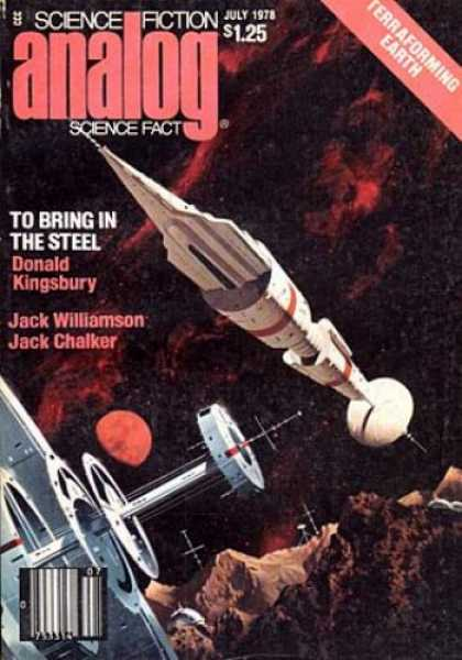 Astounding Stories 572 - To Bring In The Steel - Kingsbury - Terraforming Earth - Williamson - July