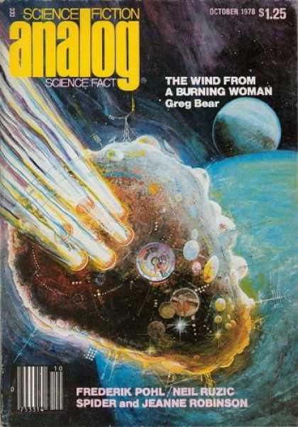 Astounding Stories 575 - The Wind From A Burning Woman - October 1978 - Planets - Space - Space Craft