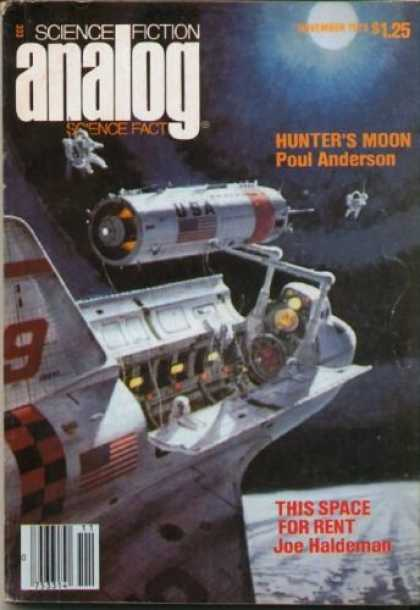 Astounding Stories 576 - Hunters Moon - This Space For Rent - Space Craft - Usa - Astronauts