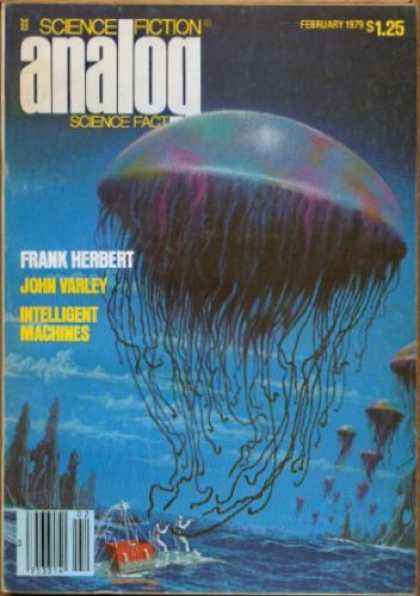 Astounding Stories 579 - Frank Herbert - John Varley - Intelligent Machines - Jellyfish - Blue