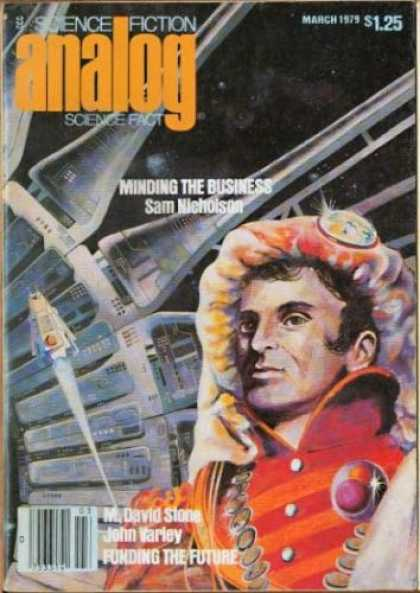 Astounding Stories 580 - Minding The Business - March 1979 - Nicholson - Funding The Future - Astronaut