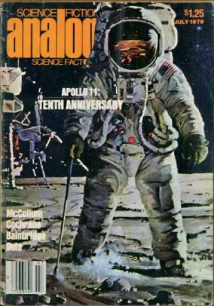 Astounding Stories 584 - Astronaut - Moon - July 1979 - Apollo 11 Tenth Anniversary - Space