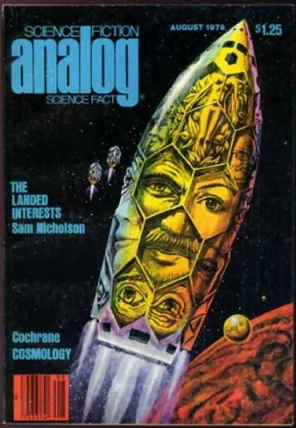 Astounding Stories 585 - The Landed Interests - August 1979 - Space - Red Planet - Shuttle