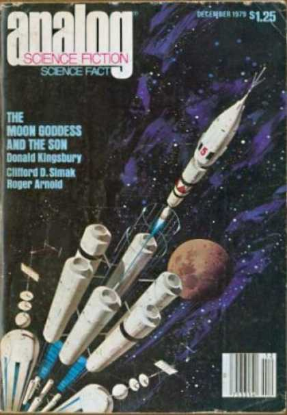 Astounding Stories 589 - Rocketship - Space Station - Space Travel - Futuristic - Mars
