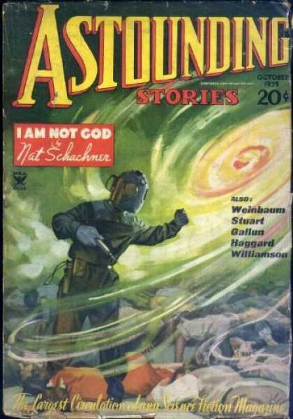 Astounding Stories 59 - I Am Not God - October 1935 - Twenty Cents - Schachner - Vortex