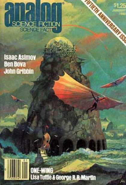 Astounding Stories 590 - Isaac Asimov - Ben Bova - John Gribbin - Lisa Tuttle - One-wing