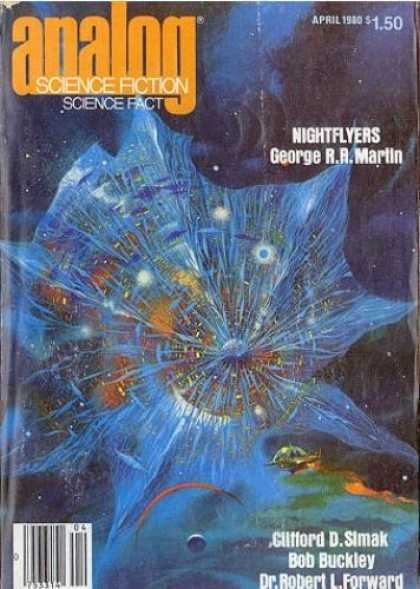 Astounding Stories 593 - Space - April 1980 - Nightflyers - Space Craft - Planet
