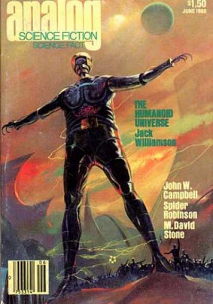 Astounding Stories 595 - The Humanoid Universe - Jack Williamson - M David Stone - John W Campbell - Spider Robinson
