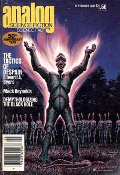 Astounding Stories 598 - The Tactics Of Despair - 50th Anniversary - Byers - September 1980 - Aliens