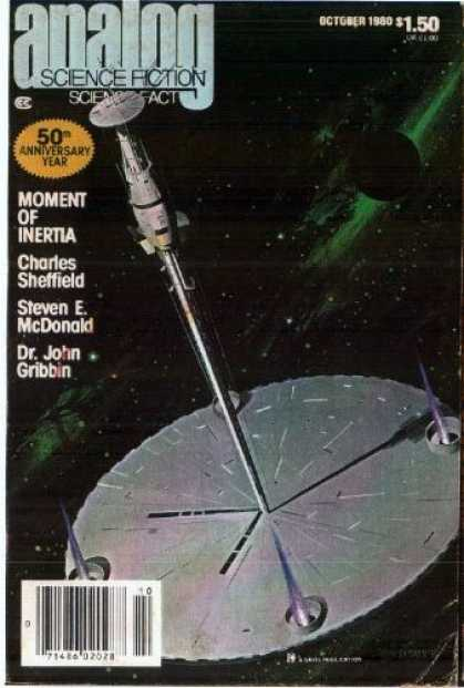 Astounding Stories 599 - October 1980 - Moment Of Inertia - Charles Sheffield - Steven E Mcdonald - Dr John Gribbin