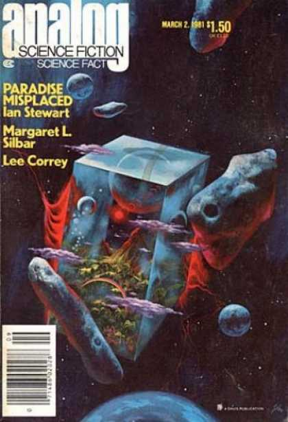 Astounding Stories 604 - March 2 1981 - Paradise Misplaced - Ian Stewart - Margaret L Silbar - Lee Correy