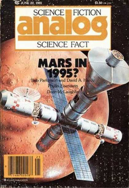 Astounding Stories 608 - Mars In 1995 - Bob Parkinson - David A Hardy - Phyllis Eisenstein - Dean Maclaughlin
