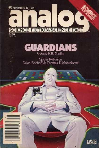 Astounding Stories 612 - Martin - Cat - Man - Guardians - October 1981