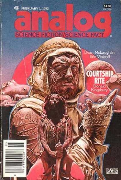 Astounding Stories 616 - February 1 1982 - Analog - Science Fictionscience Fact - Courtship Rite - Dean Mclaughlin