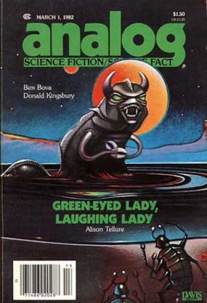 Astounding Stories 617 - Aliens - The Ugly Living Things - Space Creatures - Devils In Space - Danger In Space