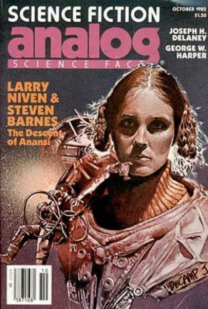Astounding Stories 625 - The Descent Of Anansi - Larry Niven - Steven Barnes - Joseph H Delaney - October 1982