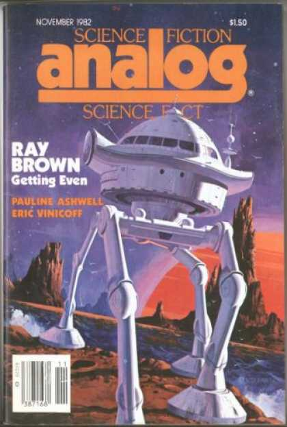 Astounding Stories 626 - Science Fiction - Analog - Getting Even - Ray Brown - Space