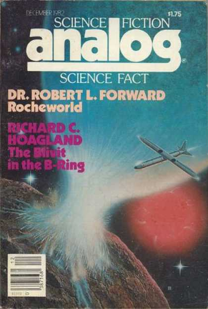 Astounding Stories 627 - Rocheworld - December 1982 - Outer Space - Shuttle - Explode
