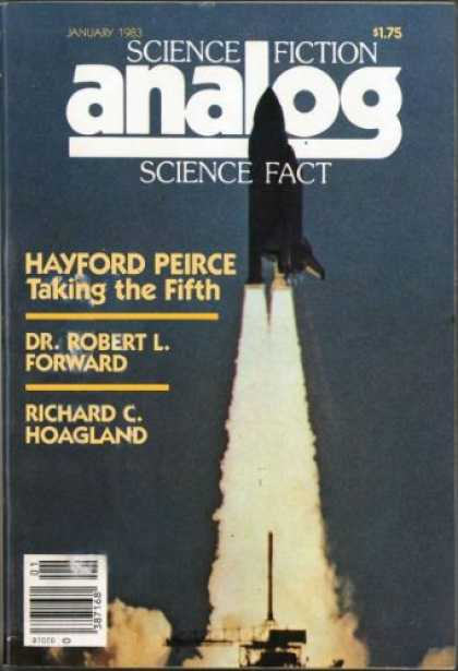 Astounding Stories 628 - January 1983 - Hayford Peirce - Taking The Fifth - Dr Robert L Forward - Richard C Hoagland