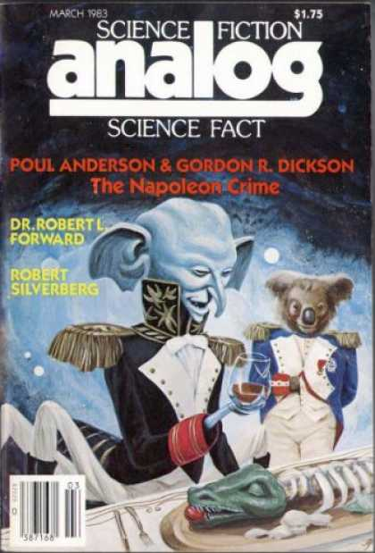 Astounding Stories 630 - The Napoleon Crime - March 1983 - Science Fiction - Science Fact - Robert Silberberg