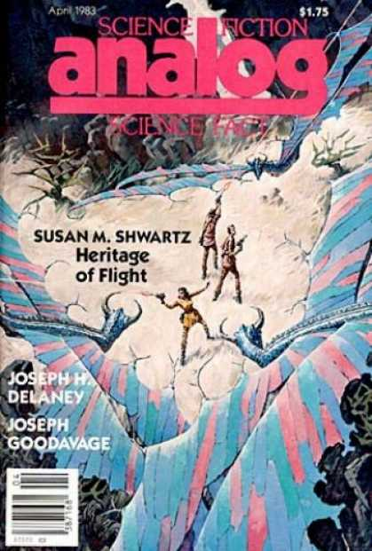 Astounding Stories 631 - Heritage Of Flight - April 1983 - Bats - Guns - Women