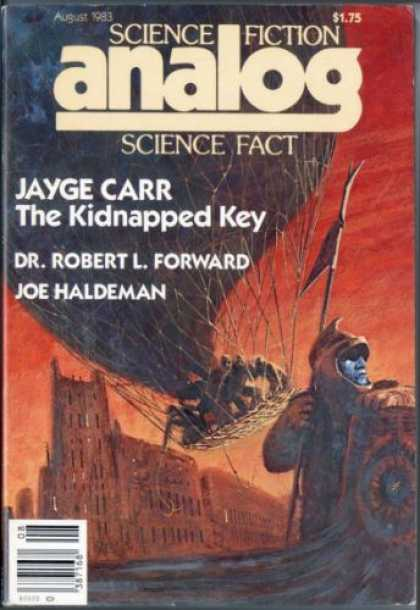 Astounding Stories 635 - The Kidnapped Key - Jayge Carr - August 1933 - Science Fiction - Joe Haldeman