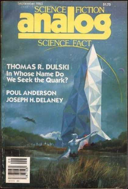 Astounding Stories 636 - September 1983 - Thomas R Dulski - In Whose Name Do We Seek The Quark - Poul Anderson - Joseph H Delaney