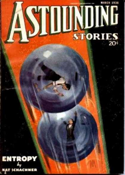 Astounding Stories 64 - March 1936 - Schachner - Entropy - Glass Globes - Trapped